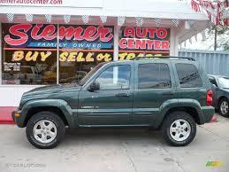 liberty jeep 2002 2002 shale green metallic jeep liberty limited 4x4 11050551