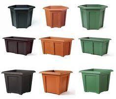 Square Plastic Planters by 200 X 9cm Yellow Plastic Plant Pots Short Lightweight 3 5