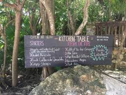 Beautiful Jungle Ambiance Picture Of Kitchen Table Tulum - Kitchen table menu