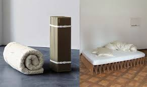 Bed Frame Alternative Process Nomad Furniture Cardboard Itbed By It Design