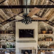 46 inch ceiling fan room size farmhouse rustic ceiling fans birch lane