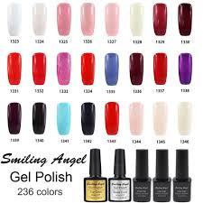 aliexpress com buy smiling angel kinds of color bling soak off