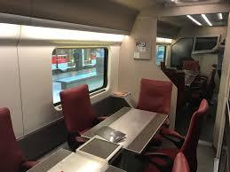 review trenitalia executive class frecciarossa rome to milan