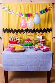 brown birthday party peanut birthday party ideas brown birthdays and snoopy