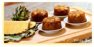 mini gluten free pineapple upside down cakes cook it allergy free
