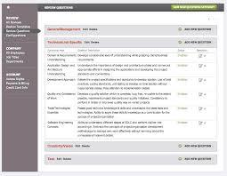 doc 580400 company performance review template u2013 employee