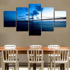 aliexpress com buy 5 panels set printed sell modern wall