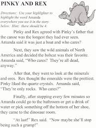 Their They Re There Worksheet Seneca Ccsd 170 Pinky And Rex Worksheets