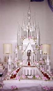 cinderella castle wedding cake fairytale princess wedding theme