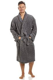 robe de chambre pour homme robe de chambre pour homme polaire ultra douce col châle motif