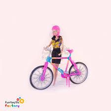 barbie corvette vintage barbie bike ridin playset funtastic factory