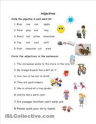 describing words worksheet for kindergarten describing words