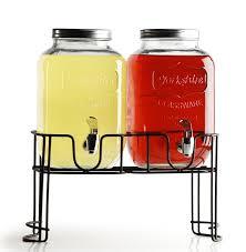 bojay inc amazon com circleware double yorkshire mason jar glass beverage