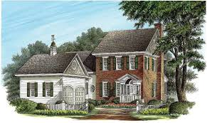 4 bed house plan with master on main and bonus upstairs 32655wp
