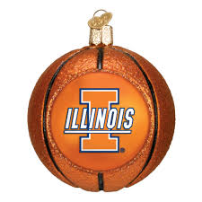 illinois basketball ornament ornaments