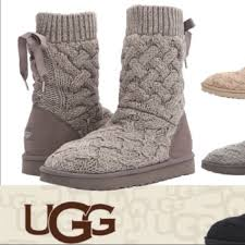 s isla ugg boot ugg ugg knit isla boots with lace up back from suggested