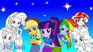 my little pony coloring book equestria girls mlp coloring pages