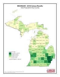 Allegan Michigan Map by Census 2010 News U S Census Bureau Delivers Michigan U0027s 2010
