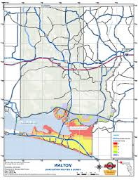 Map Of 30a Florida Walton County Issues Local State Of Emergency Updates For Tropical
