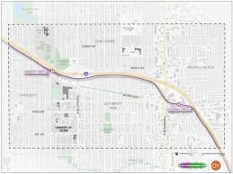 A Map Of New Mexico by Want To Reimagine The University And Colorado Light Rail Stations
