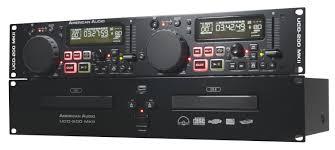 19 Inch Audio Rack American Dj Ucd200 Mkii 19 Inch Rack Dual Cd Mp3 Player With Clamp