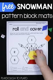 pattern blocks math activities snowman pattern block mats pattern blocks kindergarten math and