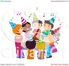 singing birthday singing happy birthday clipart clipartxtras