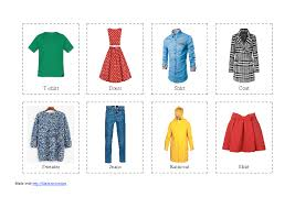 256 free shopping clothes worksheets