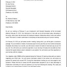 Contract Termination Notice Goodly Sample Termination Letter For Cause U2013 Letter Format Writing