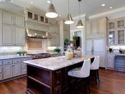 kitchen pendant light design ideas pictures zillow digs zillow 6 tags traditional kitchen with hardwood floors antiqued metal funnel pendant mont blanc marble countertop