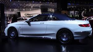 mercedes maybach s650 cabriolet detroit autoshow 2017 youtube
