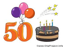 birthday clipart anniversaire 50 ans clipart gosupsneek