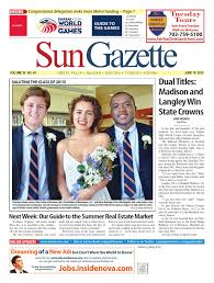 sun gazette fairfax june 18 2015 by northern virginia media