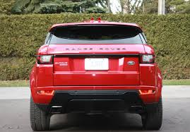 range rover evoque rear evoque holds it u0027s own against its big brothers wheels ca