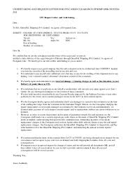 6 undertaking and request letter for cfs cargo clearance gpkimp 00 u2026