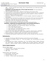 Project Controls Resume Examples by Download Protection And Controls Engineer Sample Resume