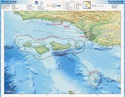 Santa Barbara Map Visit The Santa Barbara Channel Islands U2013 Santa Barbara