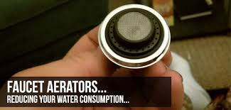 kitchen faucet aerators faucet aerators and flow reducers to save water in the