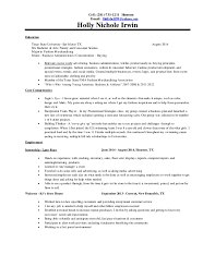 Sample Resume For Prep Cook by Holly Irwin Resume