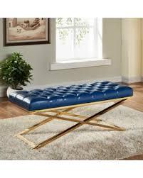 Bedroom Upholstered Benches Huge Deal On Everly Quinn York Upholstered Bench