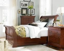 thomasville sleigh bed king cherry u2014 suntzu king bed thomasville