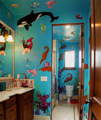 sea bathroom ideas sea bathroom mural idea as seen on www findamuralist