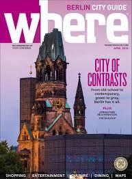 Where Magazine Berlin Apr 2018 by Morris Media Network issuu