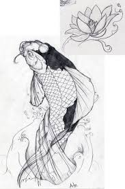 butterfly koi fish koi fish designs sketch collection 4