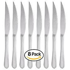 commercial kitchen knives steak knives mcirco 18 10 heavy duty stainless steel