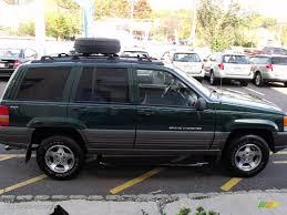 1998 jeep laredo 1998 forest green pearlcoat jeep grand laredo 4x4