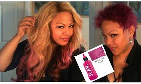 pink hair removing jazzing temp color update youtube