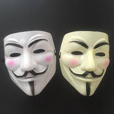 mask decorations masquerade v masks for wholesal vendetta anonymous