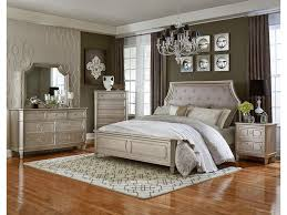 standard furniture windsor silver upholstered queen bed with cove