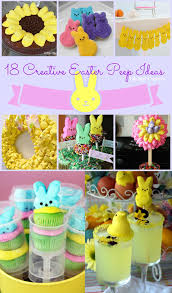 Pinterest Easter Peeps Decorations by Marshmallow Goodness A Collection Of 18 Creative Peeps Ideas